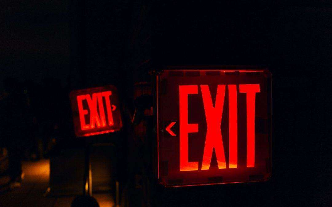 Do Emergency Exit Signs Need to be Illuminated?