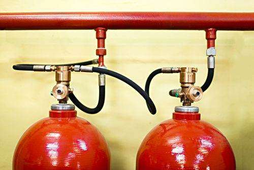 The number of fire extinguishers you need in your commercial building will depend on how big the establishment is.