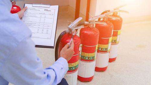 Make sure you do regular fire extinguisher inspection - by yourself and by a professional.
