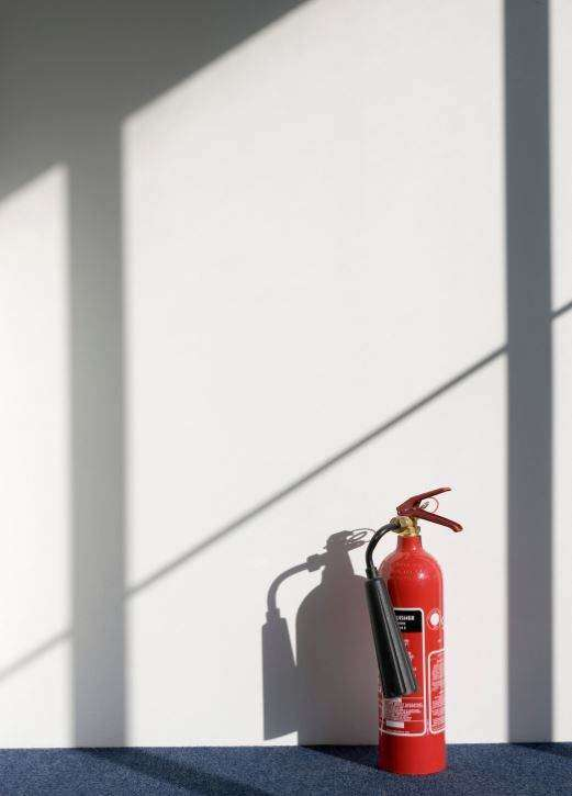 Get professionals to inspect your fire extinguishers