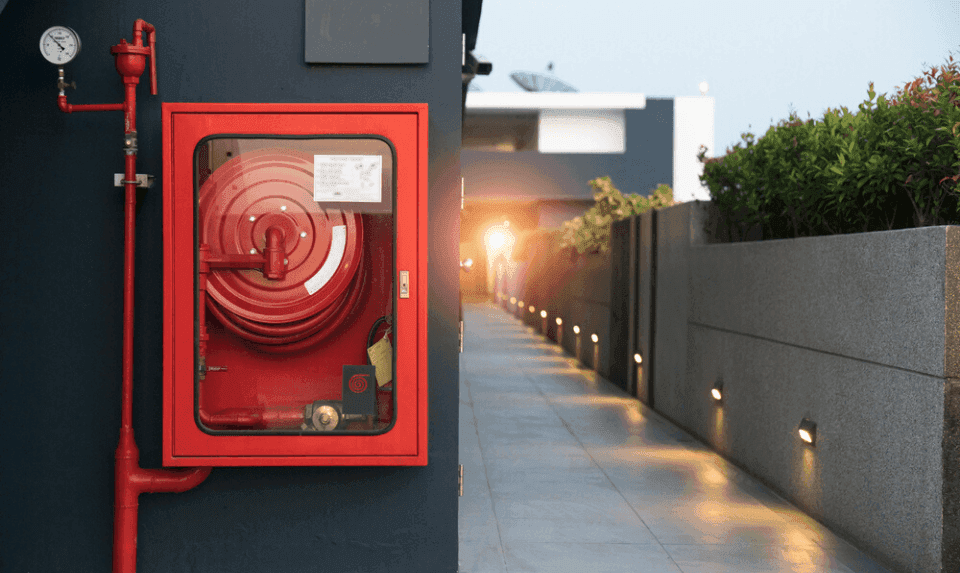 fire protection in the workspace