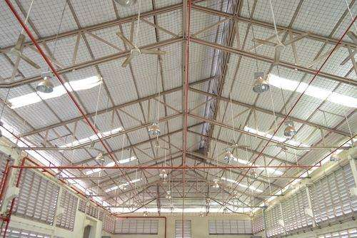 Sprinkler systems in warehouses are important fire protection systems device.